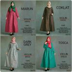 Baju Muslim Modis Violine Dress
