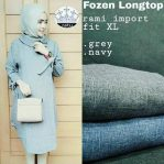 Busana Muslim Modis Frozen Long Top