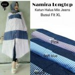 Busana Muslim Modis Namira Long Top