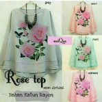 Busana Muslim Terbaru Rose Top
