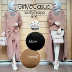 Baju Hijab Modern Girly Casual