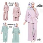 Grosir Baju Muslim Aliena Set 2in1