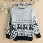 Grosir Baju Muslim Grey Deer Tribal