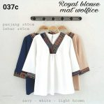 Baju Muslim Modis Royal Blouse