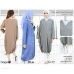 Jual Baju Hijab Tunik V Dress Desiree