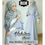 Baju Hijab Modern Vahira Dress