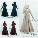 Baju Hijab Modis Alysa Dress
