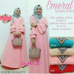 Baju Muslim Terbaru Emeral Dress