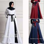 Jual Baju Muslim Lucia Dress White