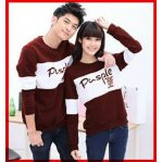 Grosir Baju Hijab Pusple Couple Red