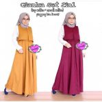 Jual Baju Muslim Gianka Set 2in1