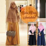 Baju Hijab Murah Belva Dress