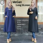 Busana Hijab Murah Megan Long Blouse