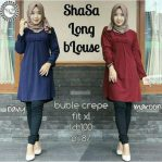 Baju Hijab Modis Shasa Long Blouse