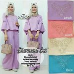 Baju Hijab Murah Diamond Set