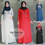 Grosir Baju Muslim Murah Best Friends Maxi