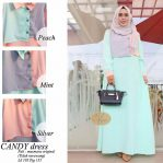 Jual Baju Hijab Candy Dress Rafi