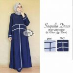 Baju Hijab Modis Saquilla Dress vg