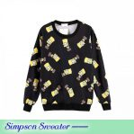 Busana Muslim Modis Simpson Sweater mal