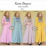 Jual Baju Hijab Karin Dress