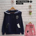 Baju Muslim Modern Sailor Sweet