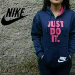 Grosir Baju Hijab Just Do It Sweater