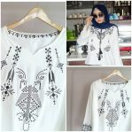 Busana Muslim Modis Simple Blouse