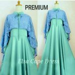 Busana Hijab Murah Elsa Cape Dress