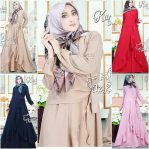 Busana Muslim Modern New Karina Dress