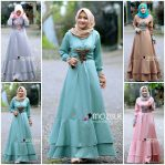 Baju Hijab Modis Weeka Dress