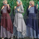 Baju Muslim Modis Nabill Vol 3 Dress