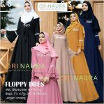Grosir Baju Hijab Floppy Dress