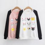 Baju Muslim Modern Cat Squad Sweater
