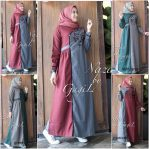Baju Muslim Modern Nazalia Dress