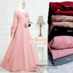 Busana Hijab Murah Anggun Dress