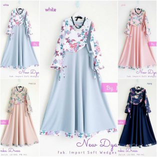Grosir Busana Muslim New Dyanka Dress