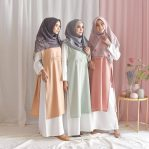 Baju Hijab Modis Axa Set 2 in 1