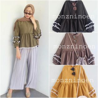 Busana Muslim Murah Nolly Top