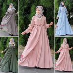 Pakaian Hijab Murah Mauna Dress
