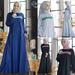 Baju Hijab Murah Qirey Dress