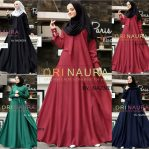Busana Hijab Murah Yuliana Dress