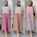 Pakaian Hijab Murah Jehan Dress