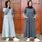 Baju Hijab Modis Long Alya Tunik