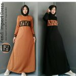 Baju Hijab Murah Fendi Dress