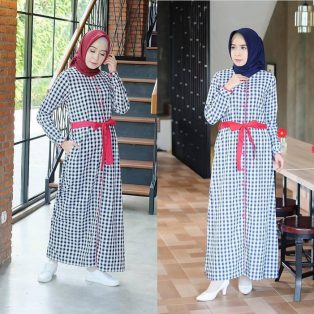 Baju Hijab Murah Khalifa Dress