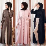 Baju Muslim Modis Zanda Dress