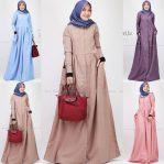 Busana Hijab Murah Bella Dress