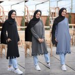 Grosir Baju Muslim Murah Spam Long Tunik