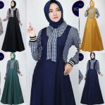 Pakaian Hijab Murah Axelle Dress