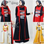 Baju Hijab Modern Lintang Dress
